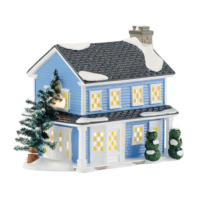 Todd & Margo's House Dept. 56 Snow Village Item #4042409