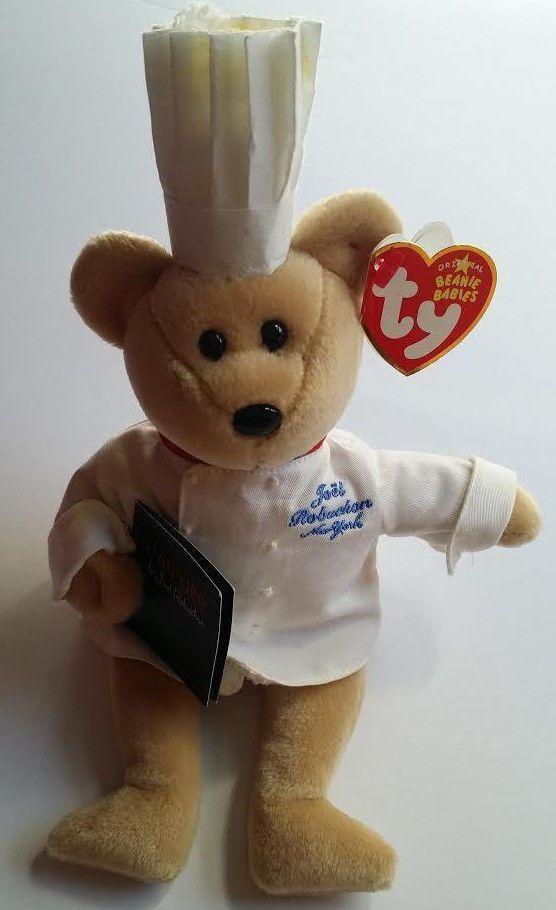 """Ty Beanie Babies """"Chef Robuchon"""" bear"""