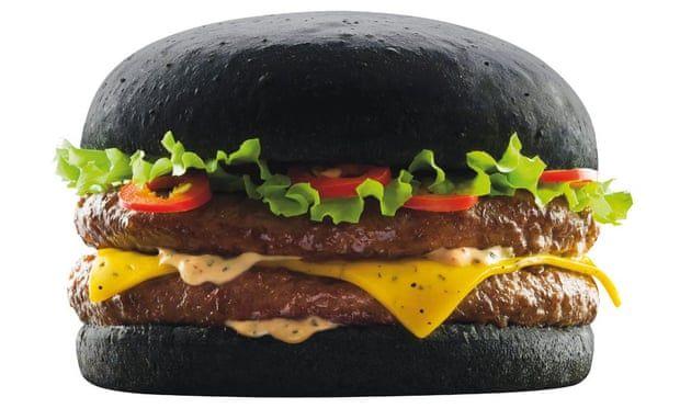 The Dark Vador burger looks gross