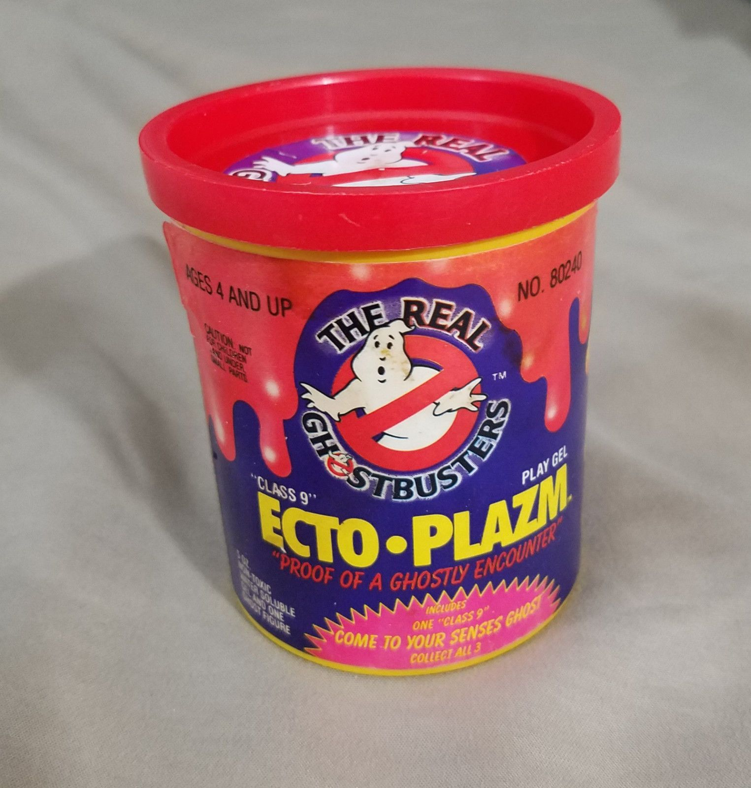 Kenner The Real Ghostbusters Ecto-Plazm Play Gel