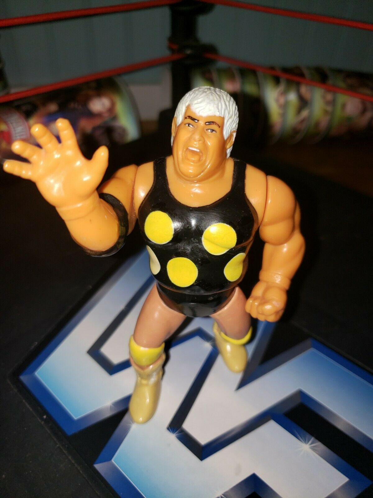 "Hasbro WWF Dusty ""The American Dream"" Rhodes"