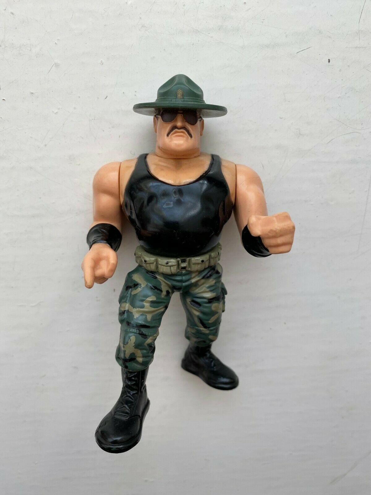 Hasbro WWF Sgt. Slaughter