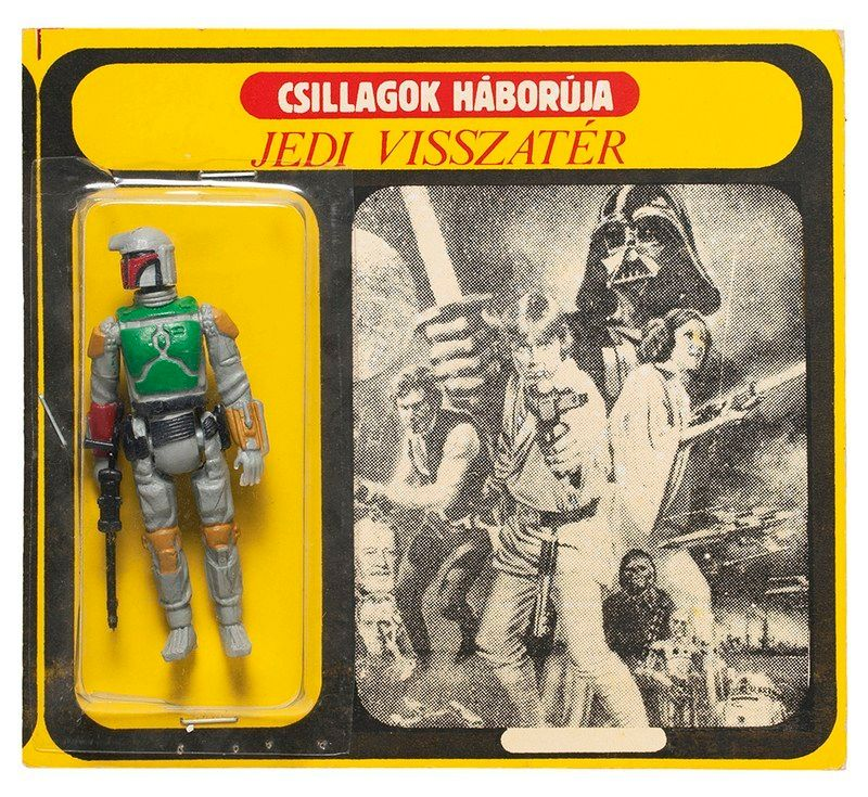 Hungarian Boba Fett action figure