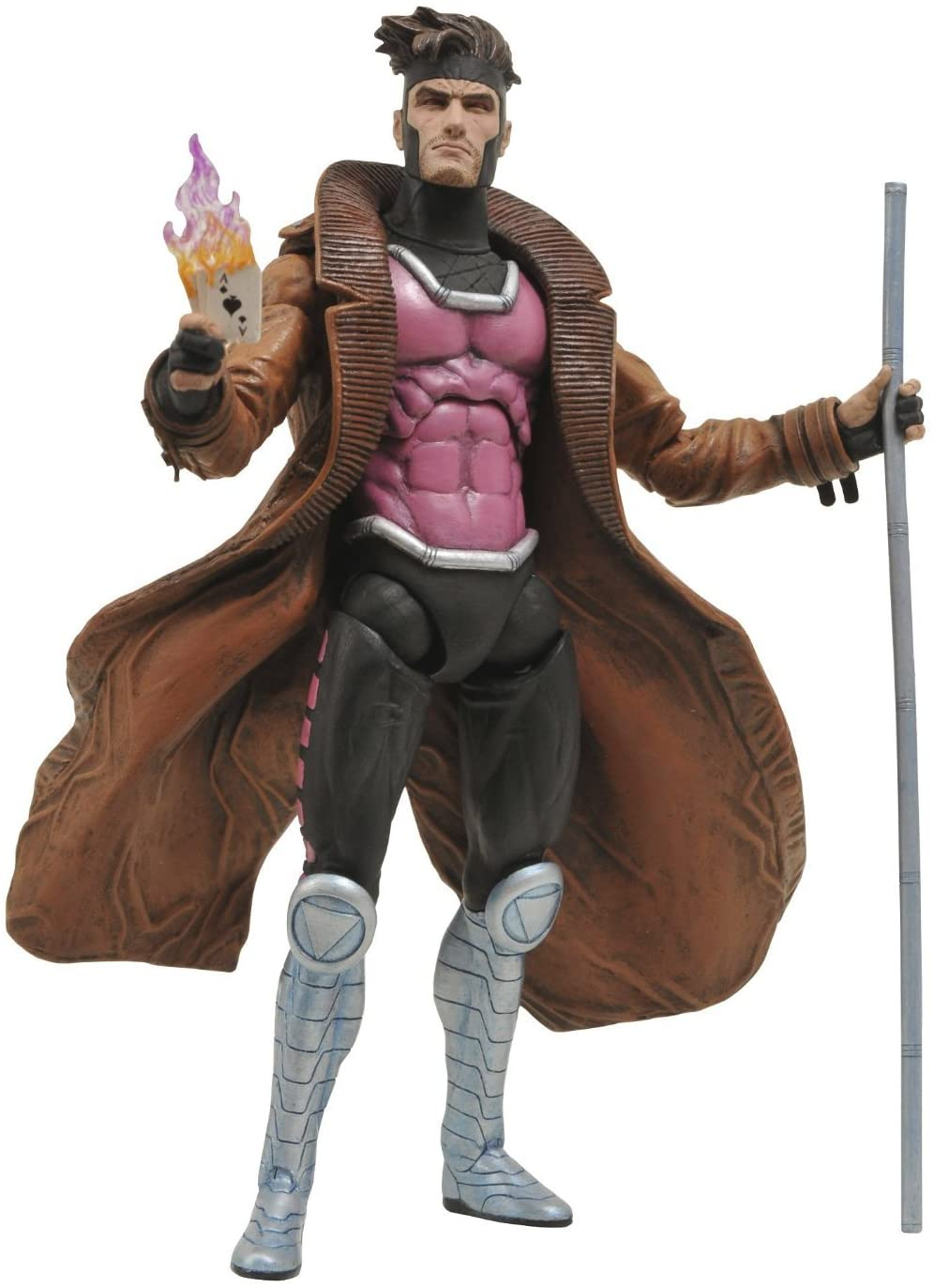 "Marvel Select ""Gambit"" Action Figure by Diamond Select Toys"