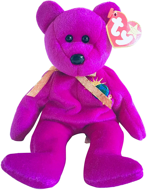 "Ty Beanie Babies ""Millennium"" bear"