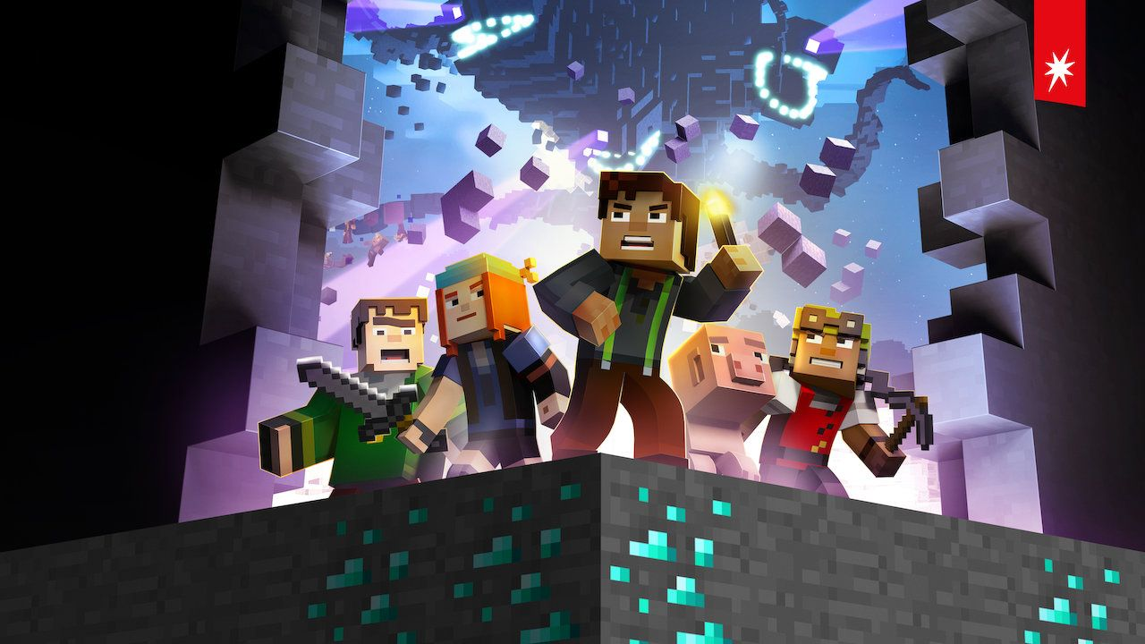 Minecraft: Story Mode is available on Netflix