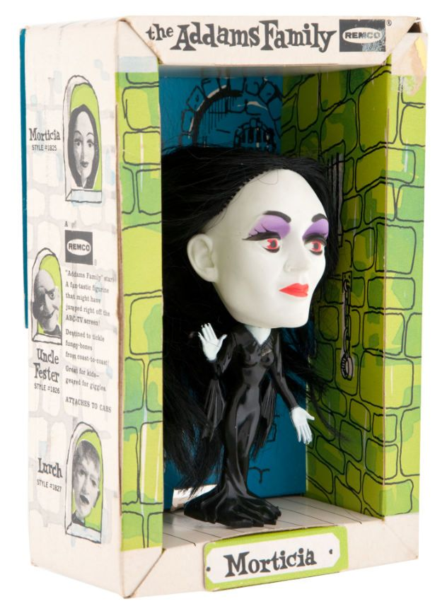 Morticia Addams doll by Remco
