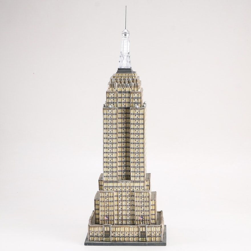 "Department 56 Christmas in the City Historical Landmark Series ""The Empire State Building"""