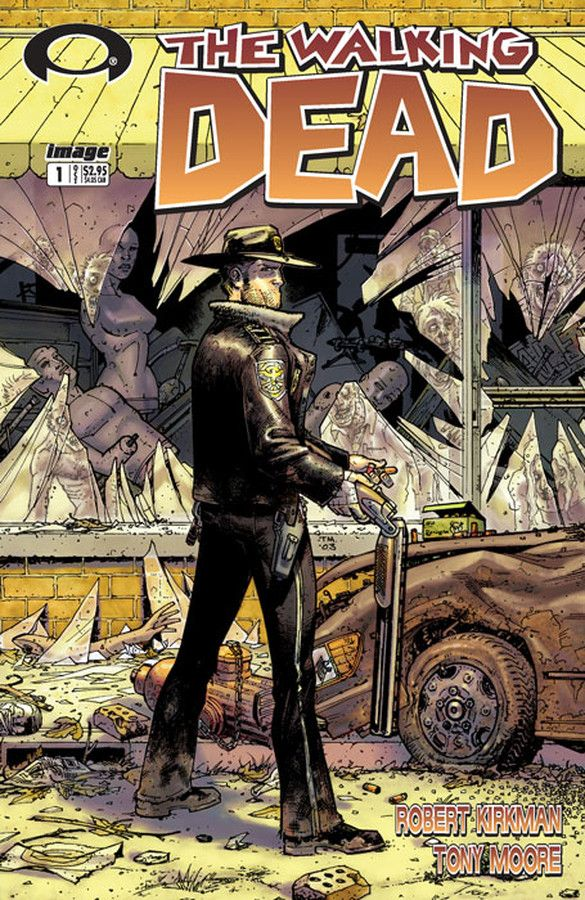 The Walking Dead comic book issue #1