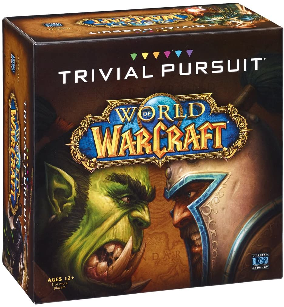 Trivial Pursuit World of Warcraft game