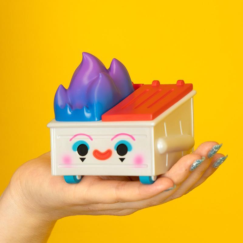 "100% Soft Dumpster Fire ""Dumpo The Clown"" Edition Vinyl Figure"