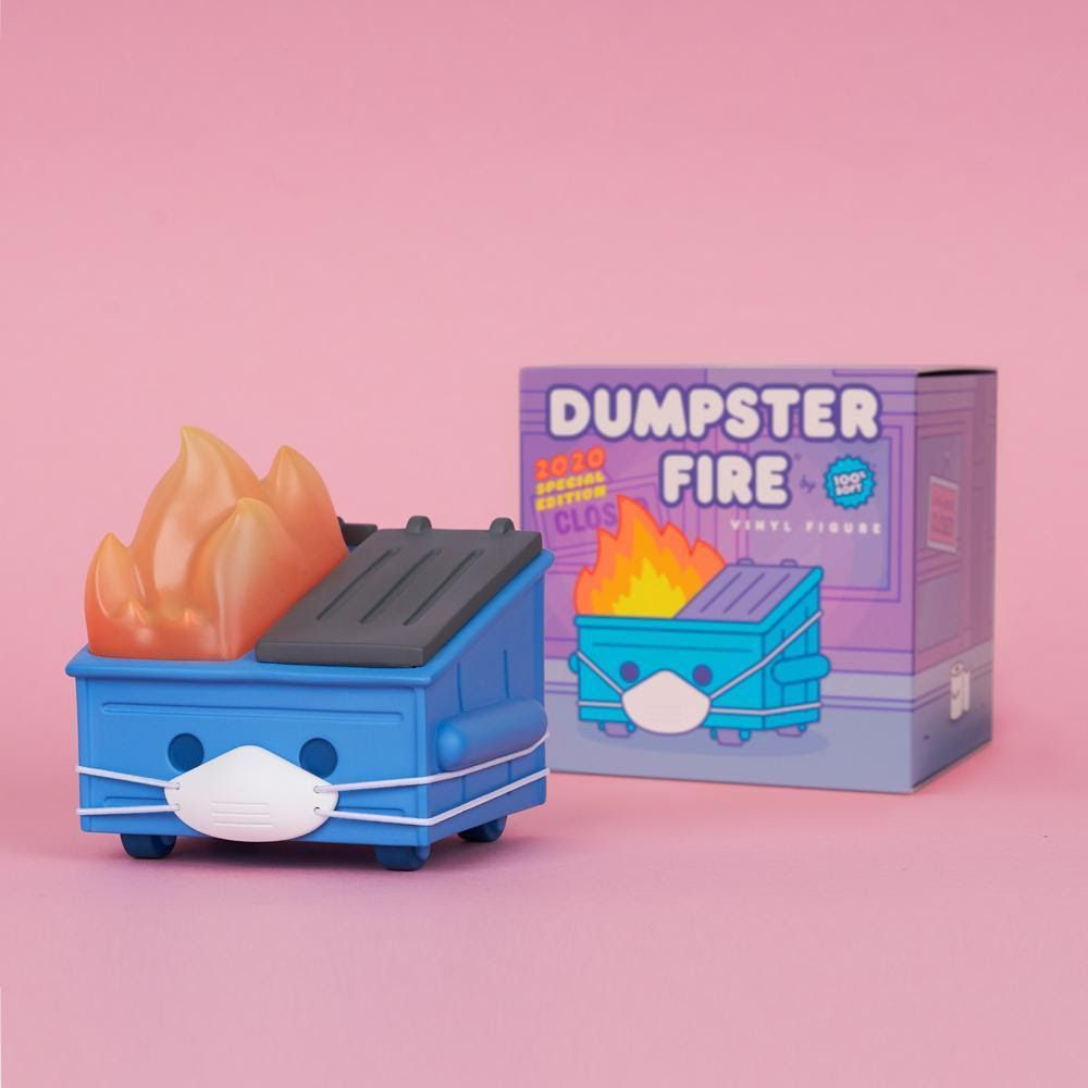 100% Soft Dumpster Fire Special 2020 Limited Edition