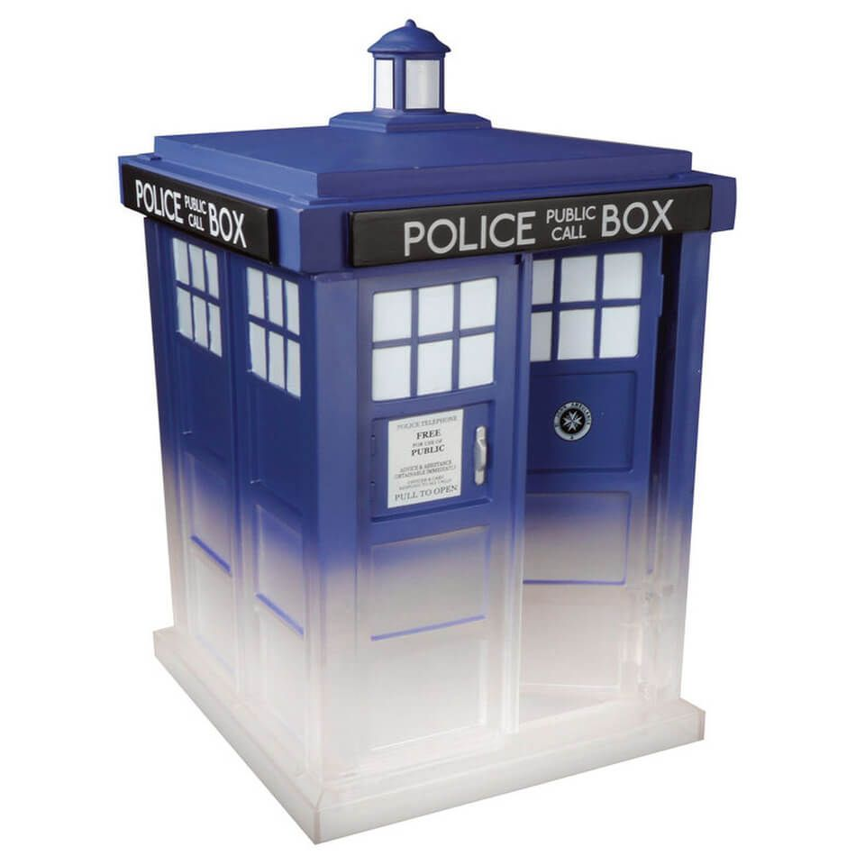 Underground Toys Exclusive Funko Pop Television Doctor Who #227 Materializing TARDIS Vinyl Figure