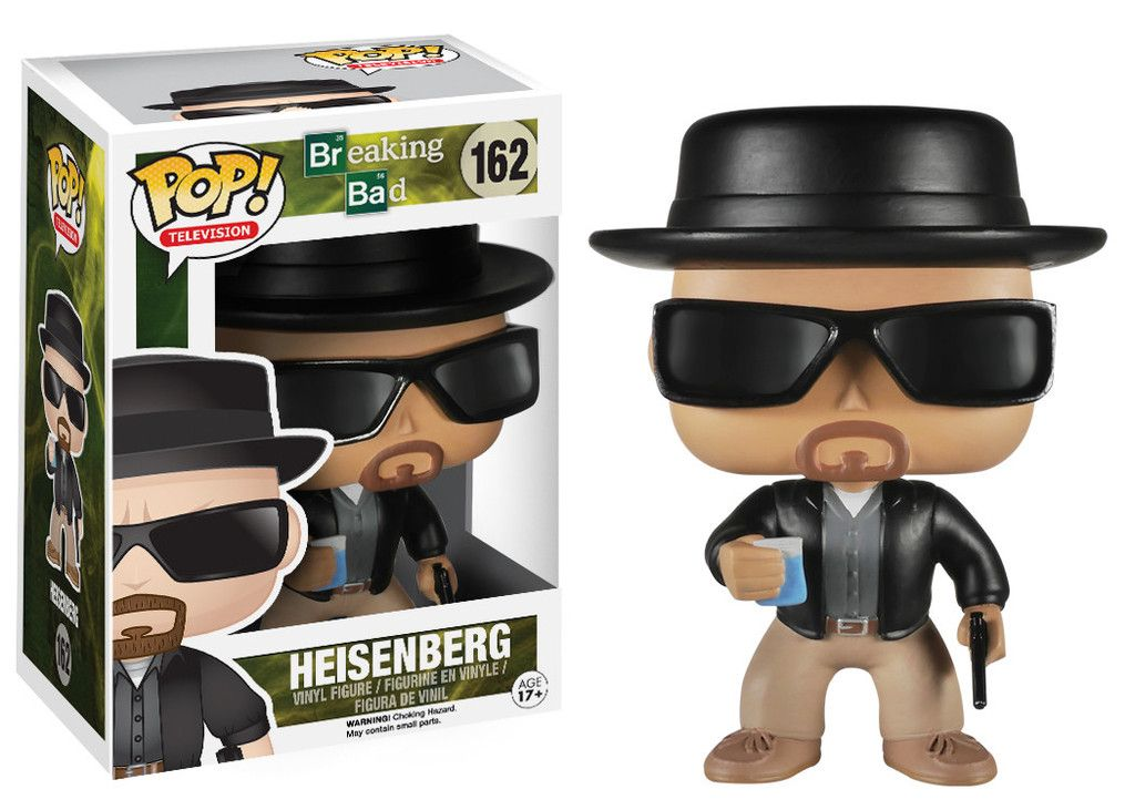 Funko Pop! Television Breaking Bad #162 Heisenberg Vinyl Figure