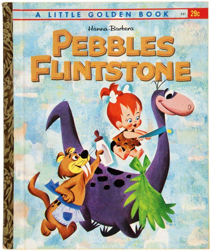 """A Little Golden Book """"Pebbles Flintstone"""" book"""