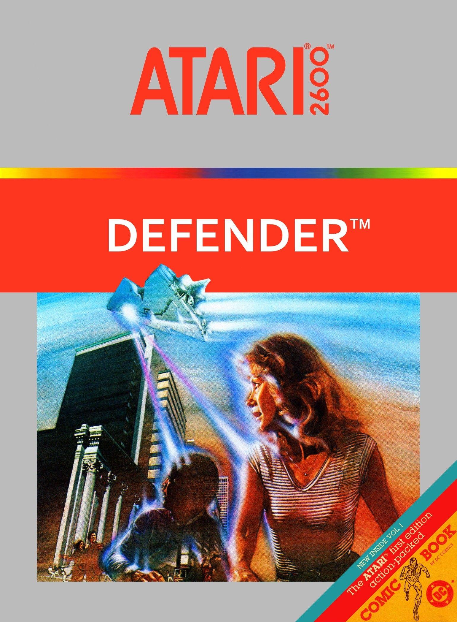 Atari 2600 Defender game