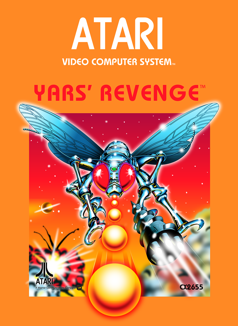 "Atari ""Yars' Revenge"" video game"