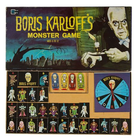 Boris Karloff's Monster Game by Game Gems