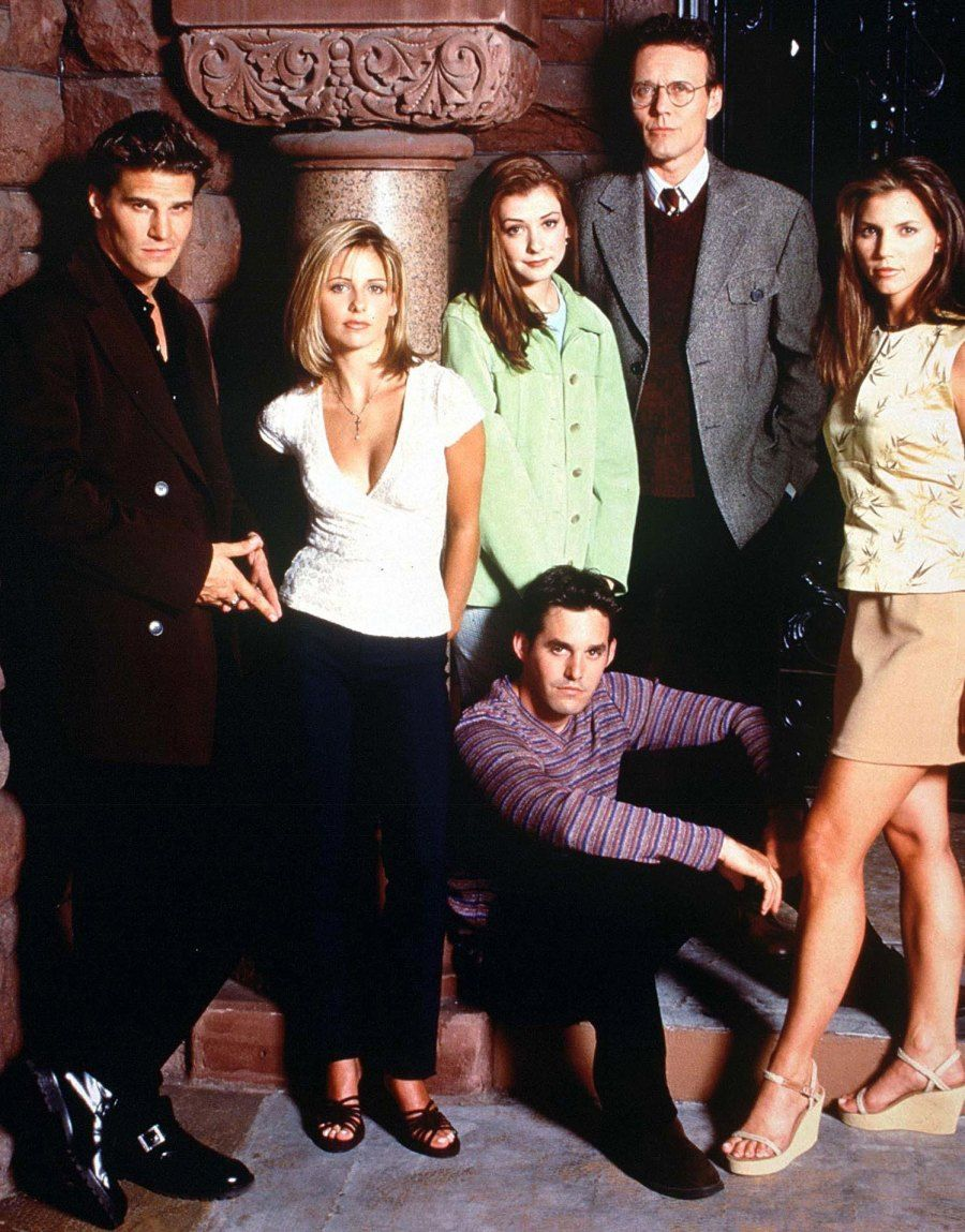 Cast of Buffy The Vampire Slayer TV series