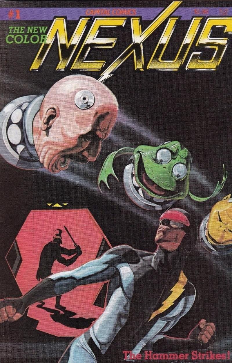 "Capital Comics ""Nexus #1"" 1983"
