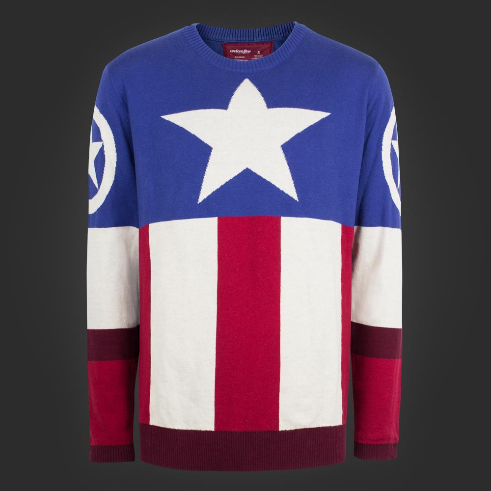 Welovefine Captain America Uniform Sweater