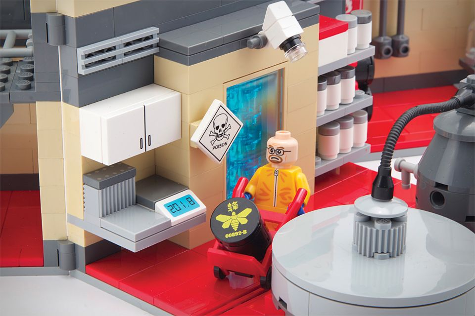 Breaking Bad Superlab Playset by Citizen Brick