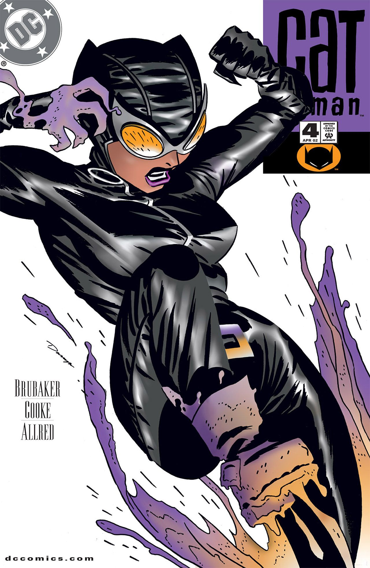 "DC Comics ""Catwoman #1"" comic book"