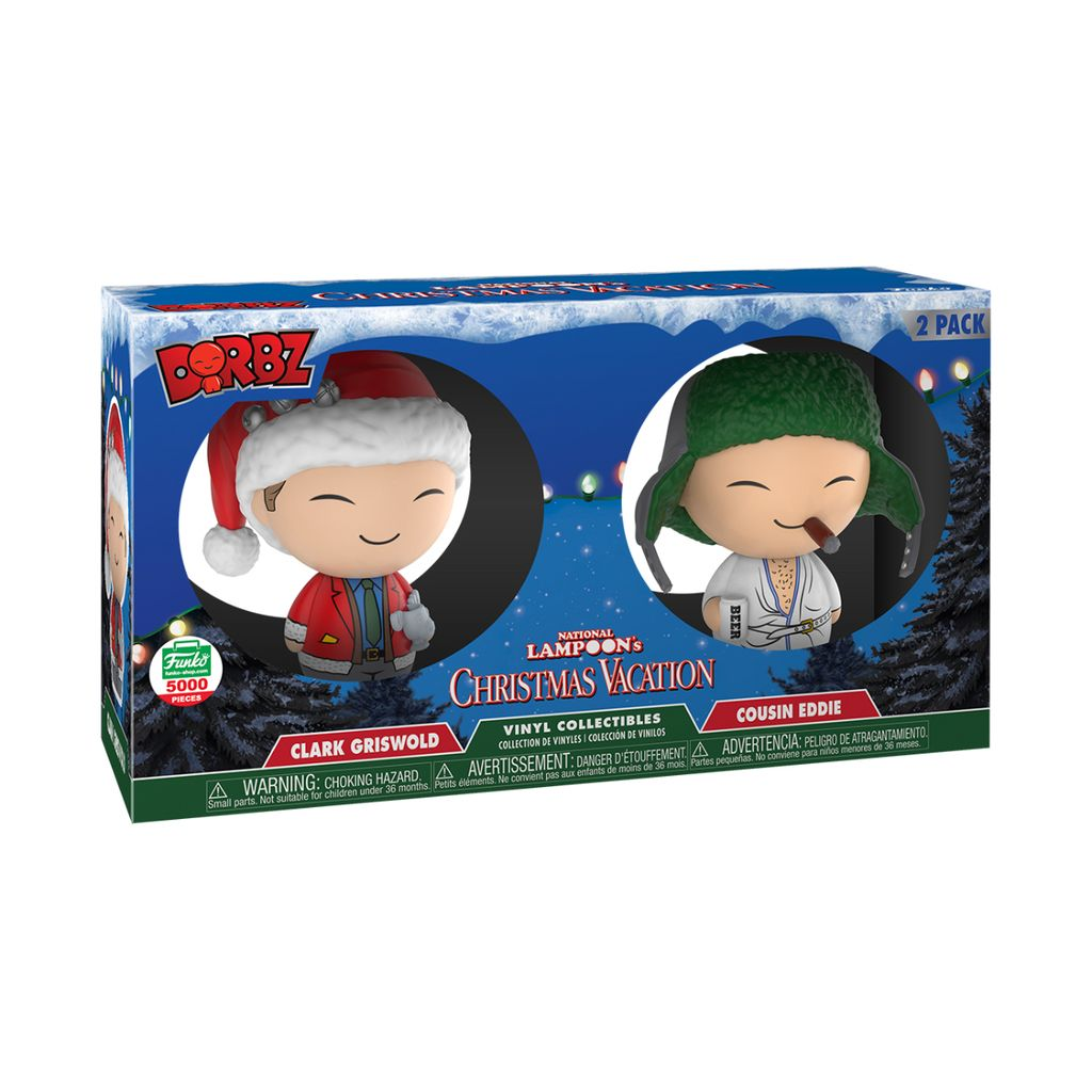 Funko Dorbz Christmas Vacation Vinyl Collectibles 2 Pack