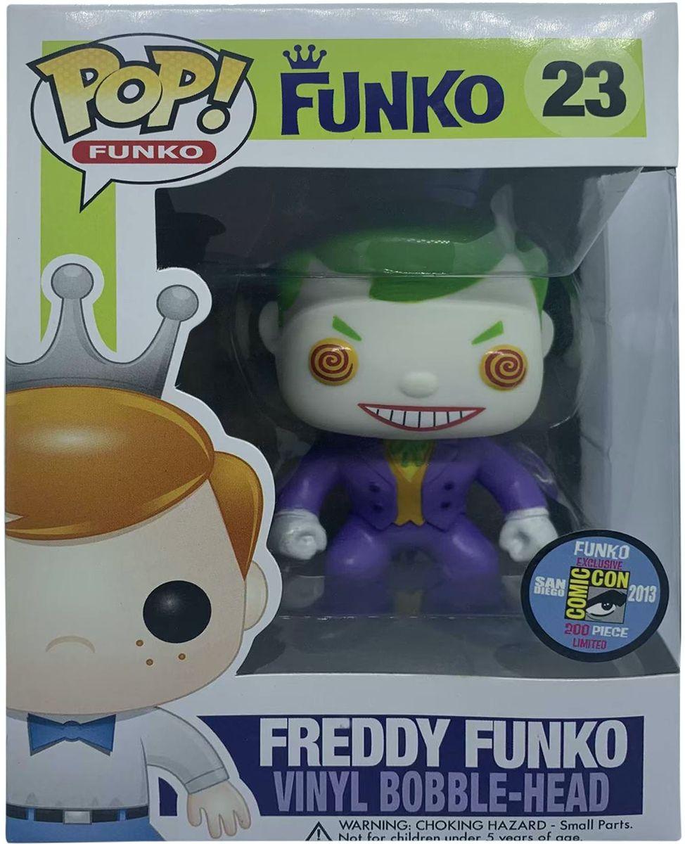 SDCC 2013 Exclusive Funko Pop! Funko #23 Freddy Funko as The Joker Vinyl Figure