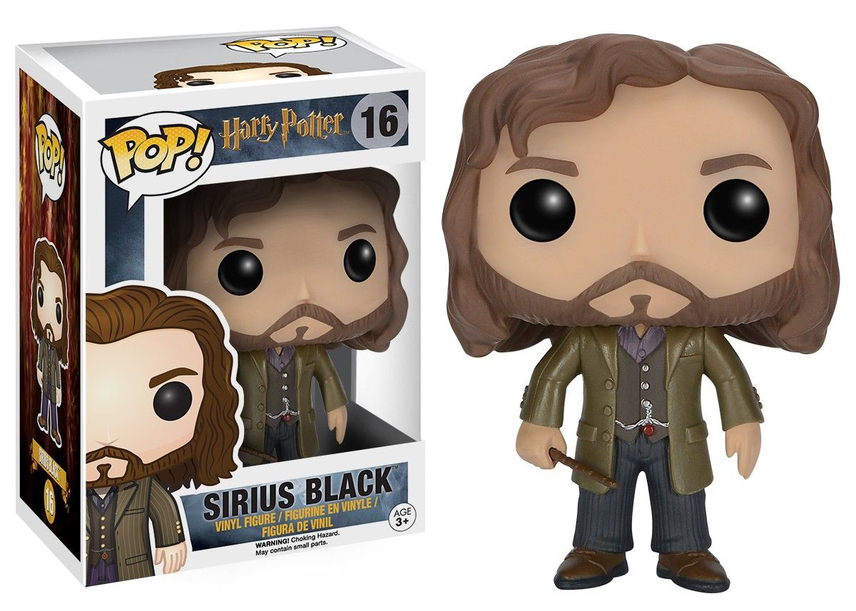 Funko Pop! Harry Potter #16 Sirius Black Vinyl Figure
