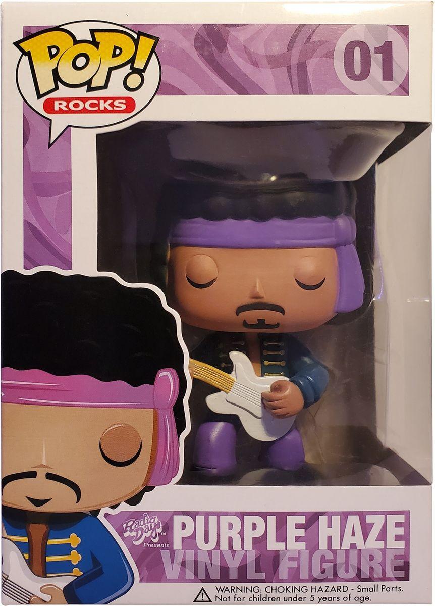 Funko Pop! Rocks #01 Purple Haze (Metallic Chase) Vinyl Figure