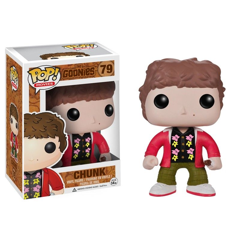 Funko Pop Movies The Goonies #79 Chunk Vinyl Figure
