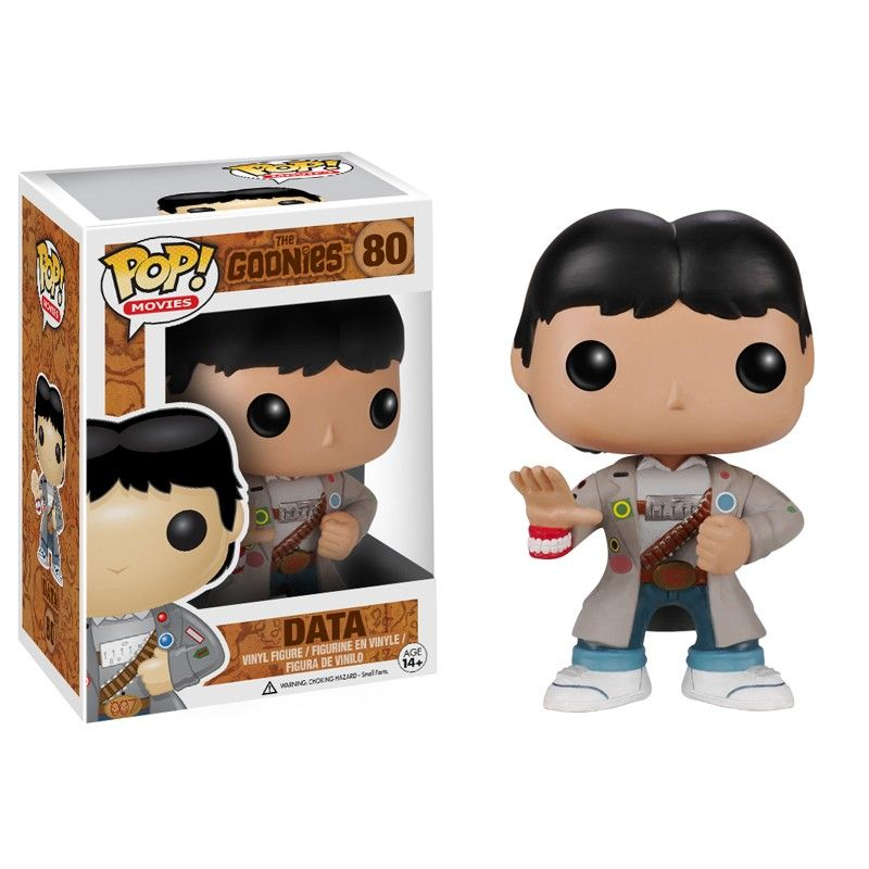 Funko Pop Movies The Goonies #80 Data Vinyl Figure