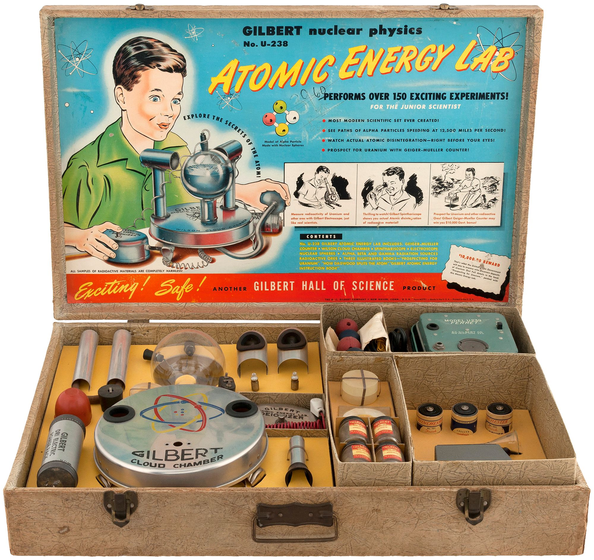 Gilbert Nuclear Physics Atomic Energy Lab toy