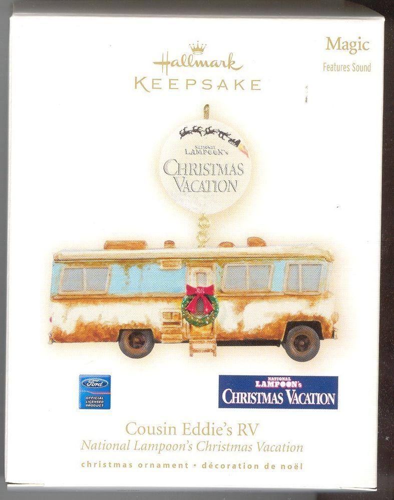 Hallmark Keepsake Ornament National Lampoon's Christmas Vacation Cousin Eddie's RV