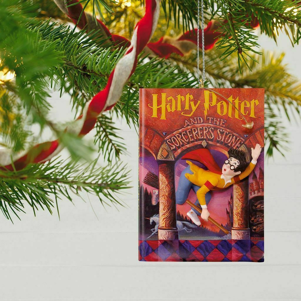 Hallmark Keepsake Ornament Harry Potter And The Sorcerer's Stone Book Cover