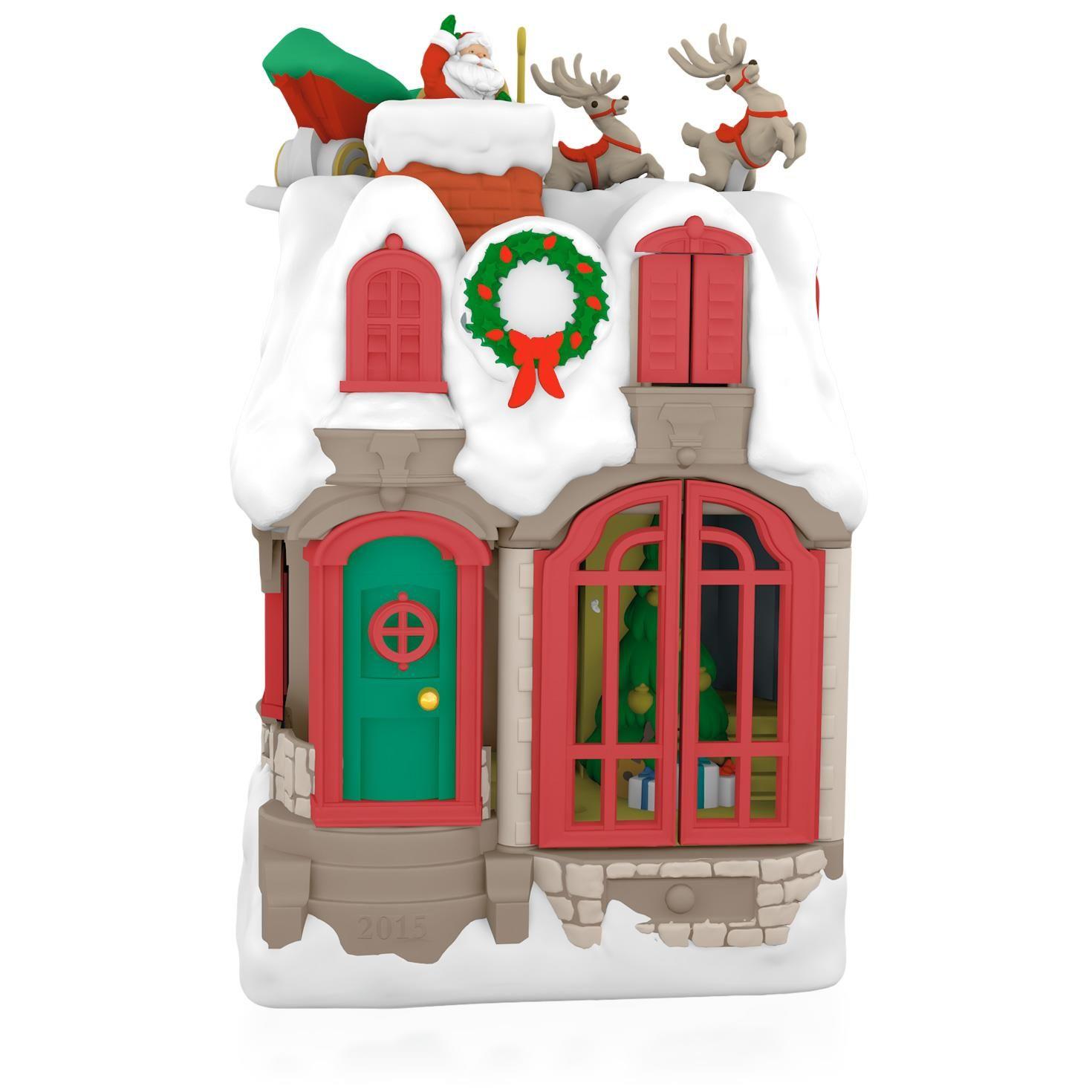 "Hallmark Keepsake Ornament ""Up On The Housetop"""