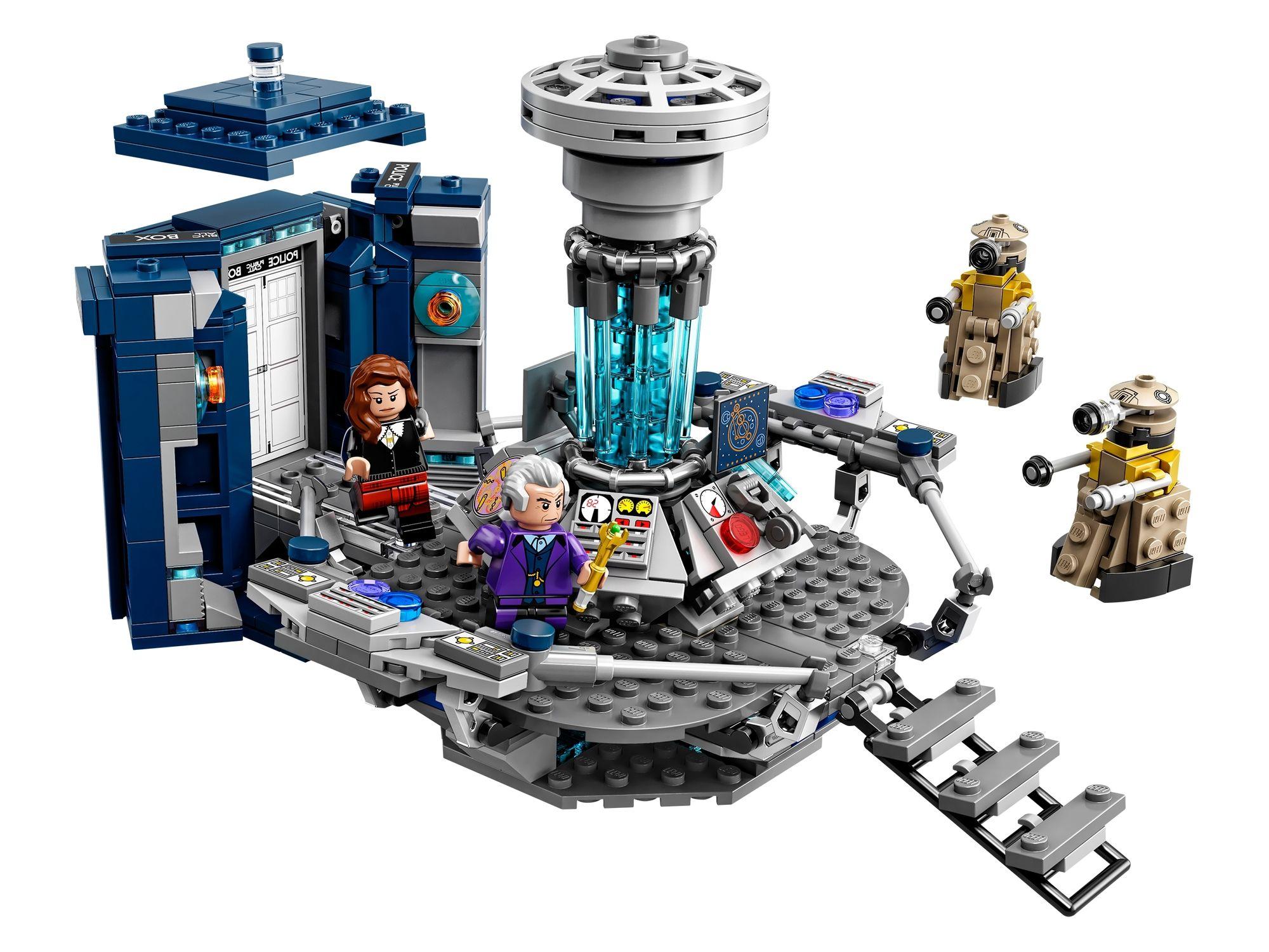 LEGO Ideas 21304 Doctor Who TARDIS