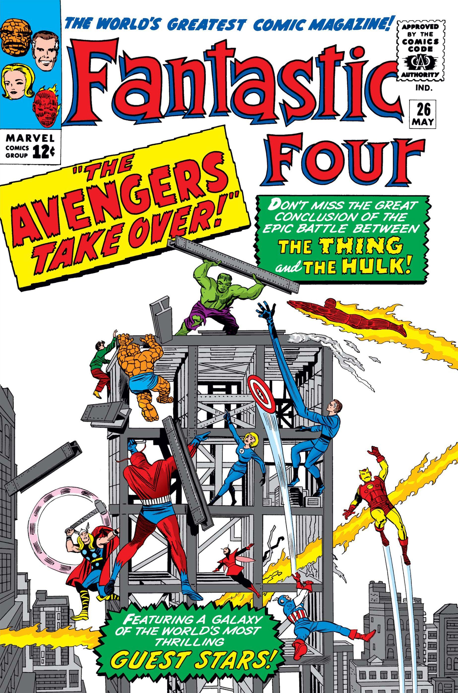 """Marvel Comics """"Fantastic Four #26"""" 1964"""