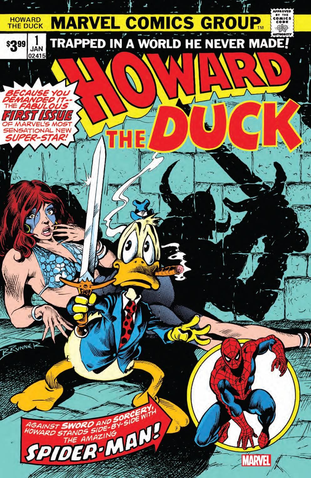 "Marvel Comics ""Howard The Duck #1"" 1976"
