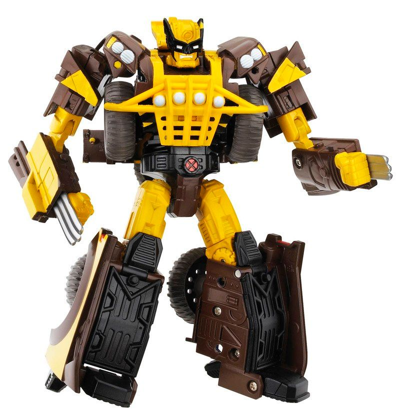 Marvel Transformers Wolverine Action Figure