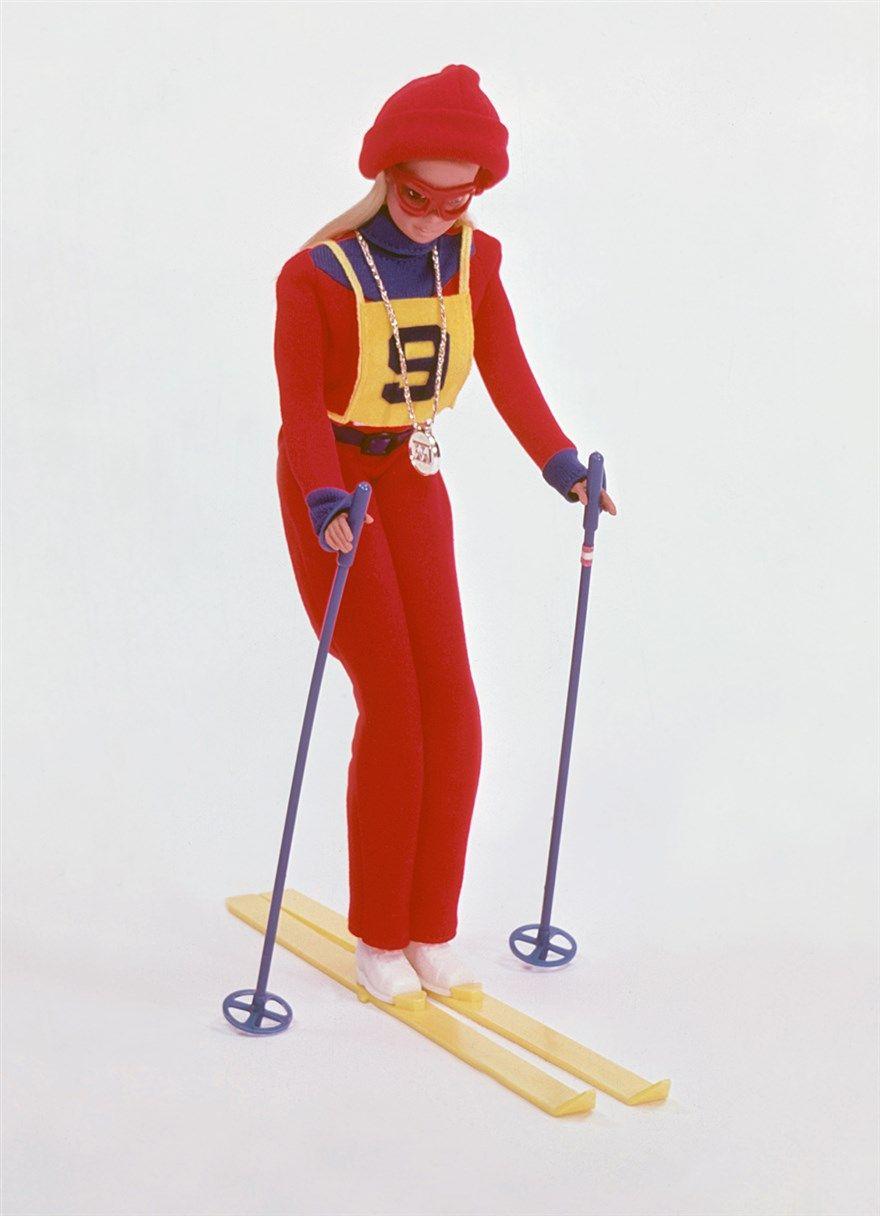 "Mattel ""Olympic Skier Barbie"" doll, 1975"