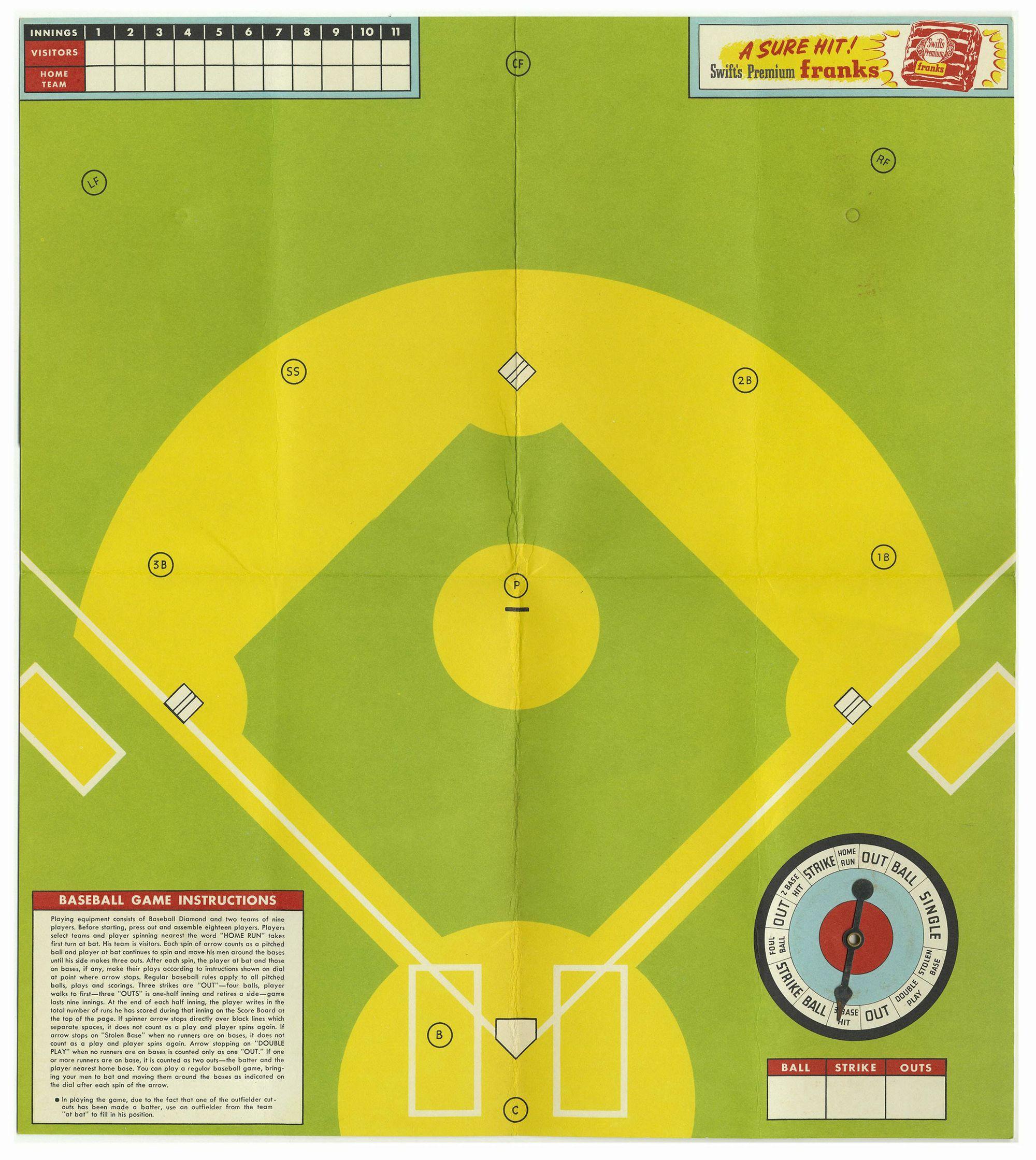 Swift Meats Major League Baseball Game
