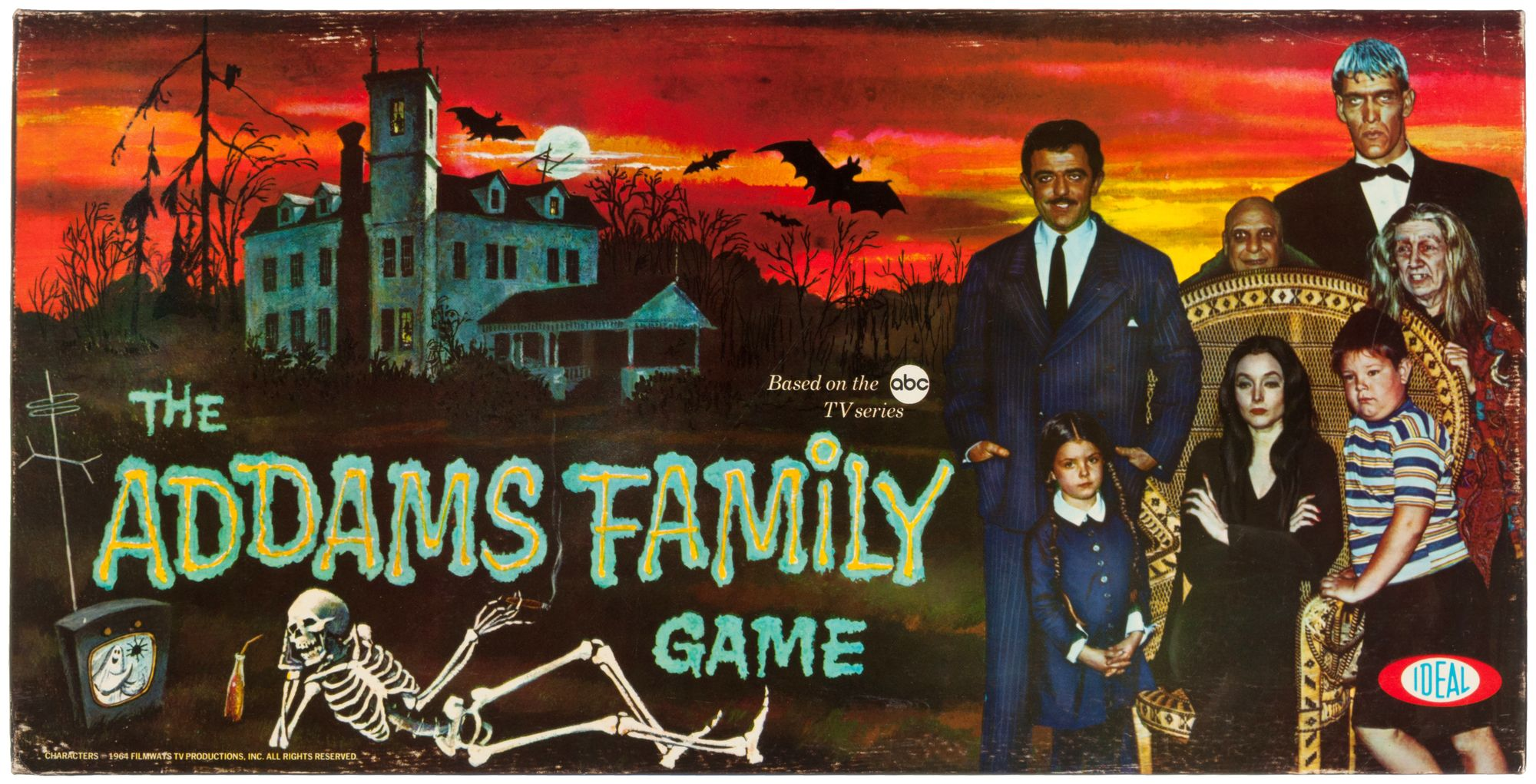The Addams Family Game by Ideal