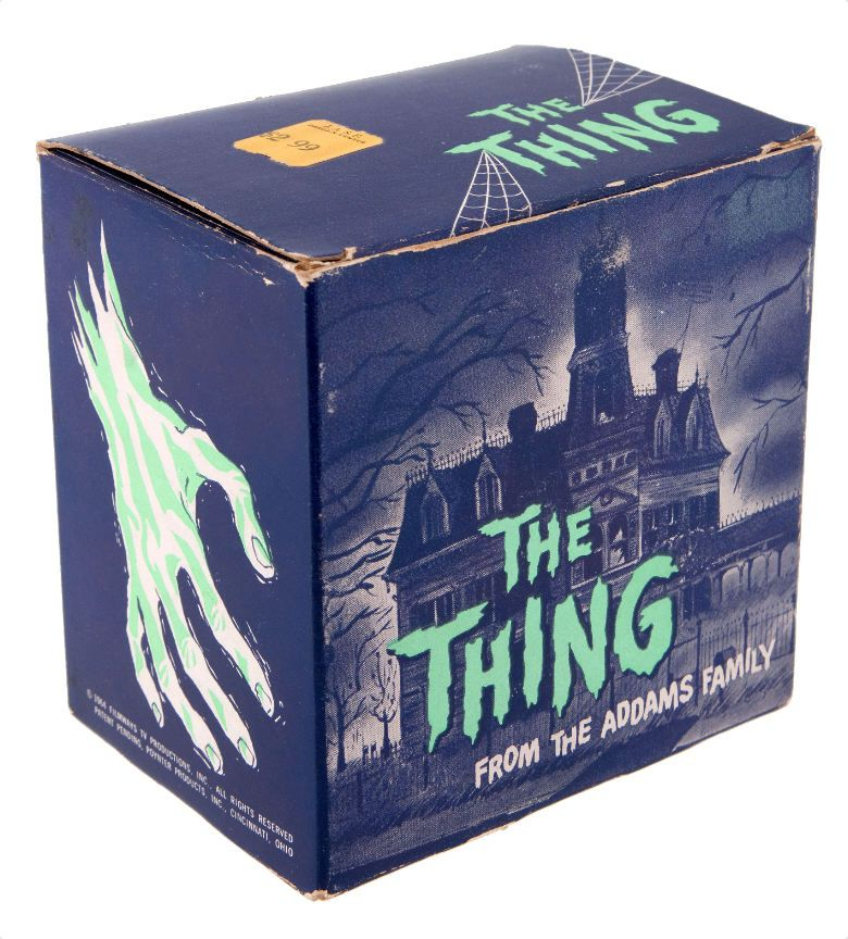 The Thing from The Addams Family Battery Operated Bank