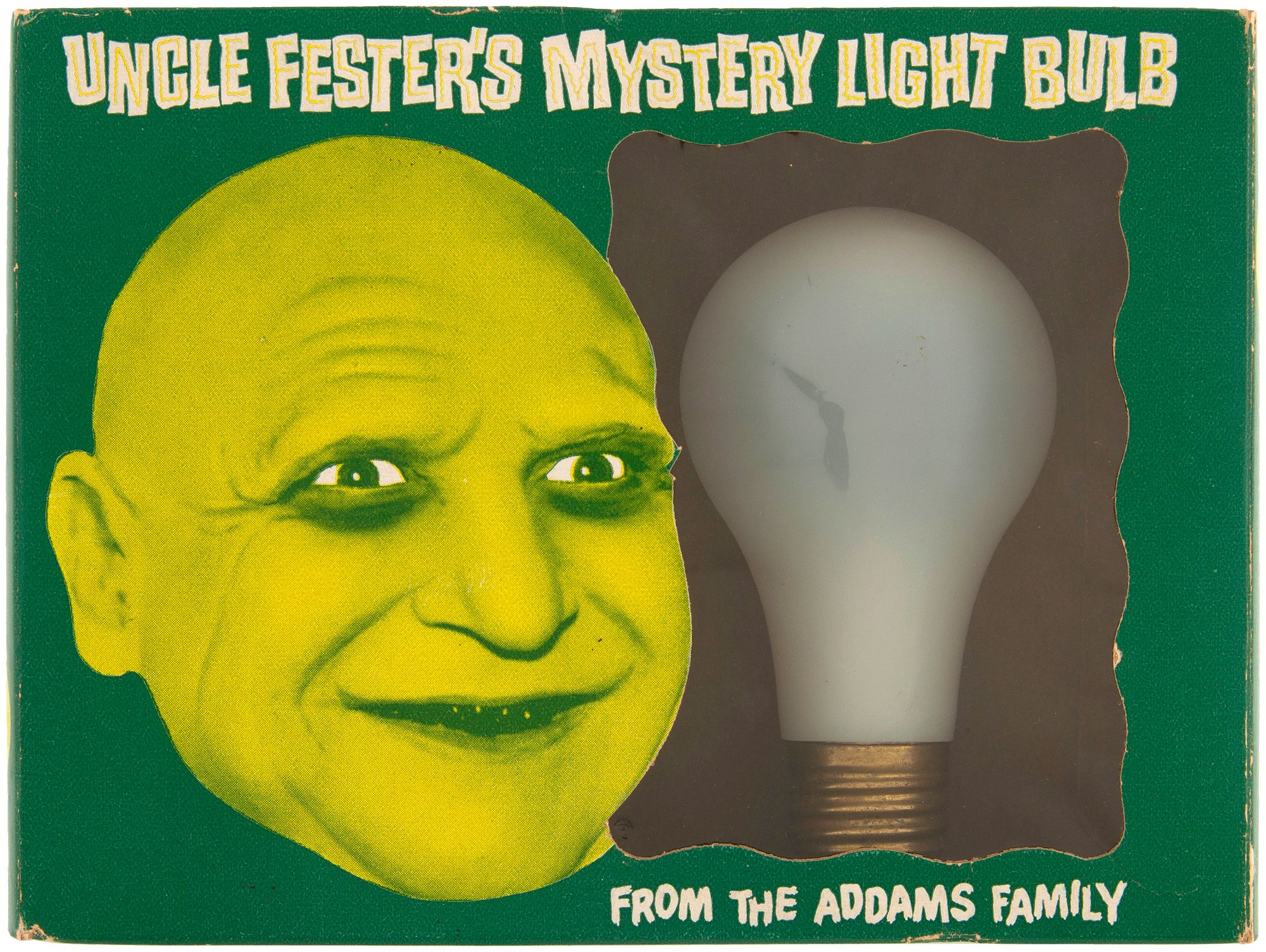 Uncle Fester's Mystery Light Bulb