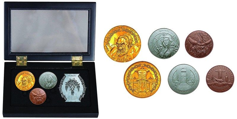 World of Warcraft Collectible Coin Sets