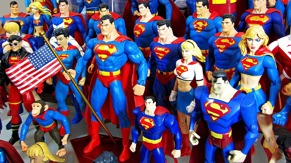 The 5 Super Figures of Superman