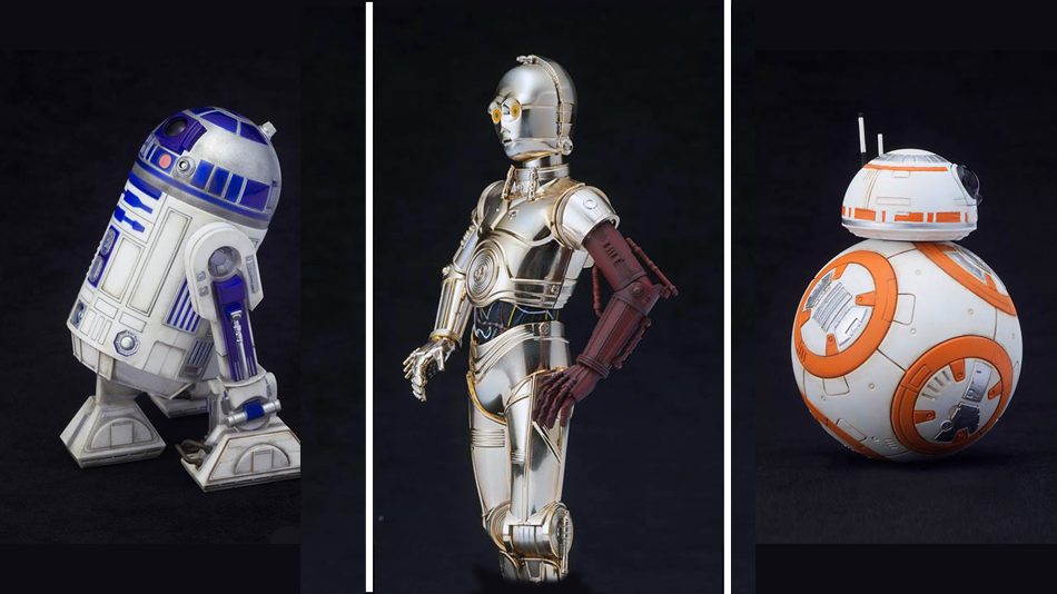 Kotobukiya Brings The Droids