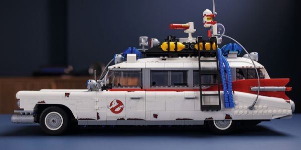This LEGO Ghostbusters Ecto-1 Is Paranormal Perfection